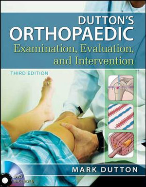 Cover of Dutton's Orthopaedic Examination Evaluation and Intervention, Third Edition