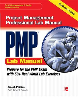 Cover of PMP Project Management Professional Lab Manual