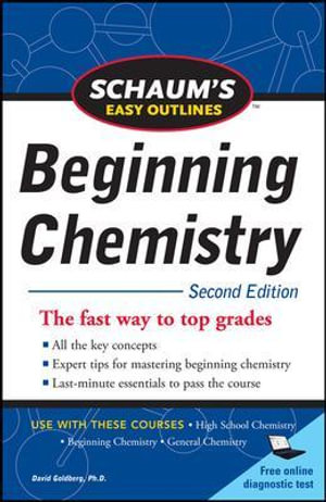 Cover of Schaum's Easy Outline of Beginning Chemistry, Second Edition