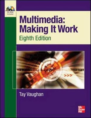Cover of Multimedia Making It Work Eighth Edition