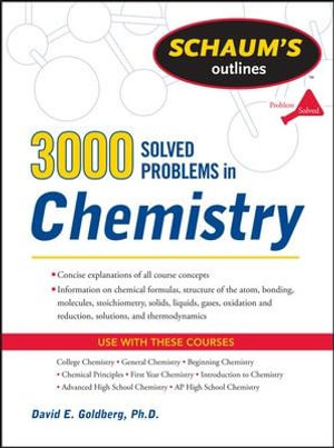 Cover of 3,000 Solved Problems In Chemistry