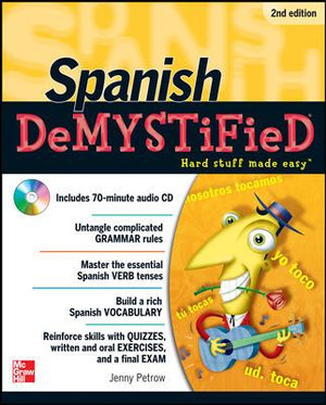Cover of Spanish DeMYSTiFieD, Second Edition