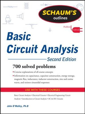 Cover of Schaum's Outline of Basic Circuit Analysis, Second Edition