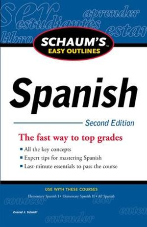Cover of Schaum's Easy Outline of Spanish, Second Edition