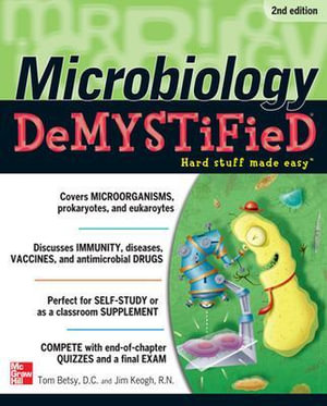 Cover of Microbiology DeMYSTiFieD, 2nd Edition