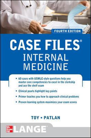 Cover of Case Files Internal Medicine, Fourth Edition