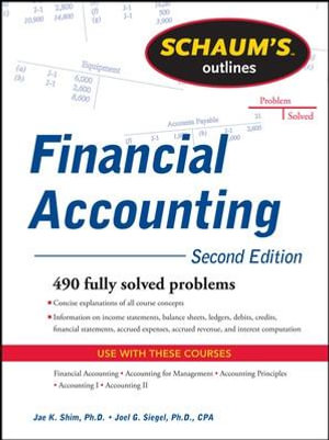 Cover of Schaum's Outline of Financial Accounting, 2nd Edition