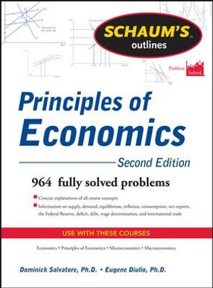Cover of Schaum's Outline of Principles of Economics, 2nd Edition