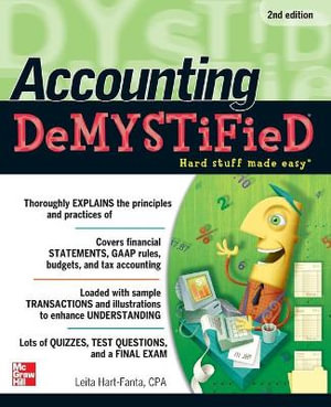 Cover of Accounting DeMYSTiFieD, 2nd Edition