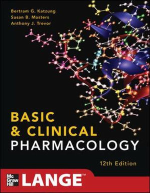 Cover of Basic and Clinical Pharmacology 12/E