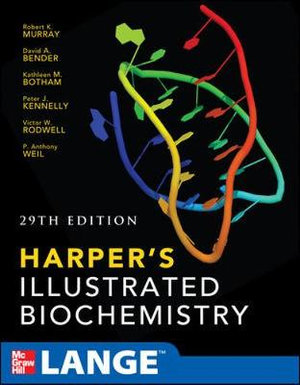 Cover of Harpers Illustrated Biochemistry 29th Edition