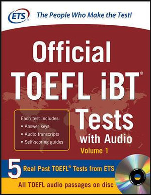 Cover of Official TOEFL iBT Tests with Audio