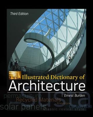 Cover of Illustrated Dictionary of Architecture, Third Edition