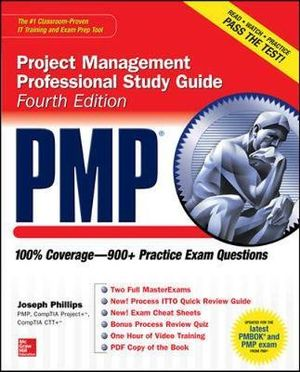Cover of PMP Project Management Professional Study Guide, Fourth Edition