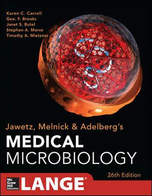 Cover of Jawetz Melnick&Adelbergs Medical Microbiology 26/E