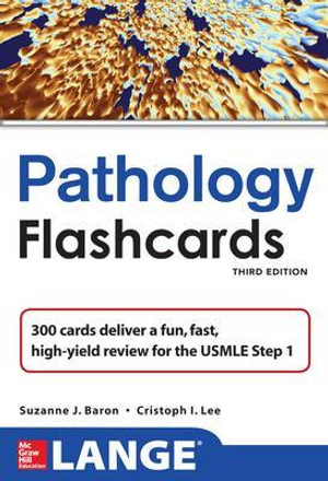 Cover of Lange Pathology Flash Cards, Third Edition