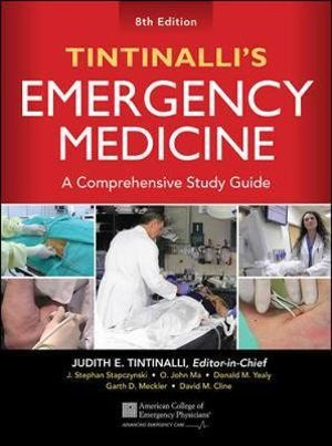 Cover of Tintinalli's Emergency Medicine: A Comprehensive Study Guide, 8th edition