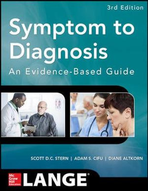 Cover of Symptom to Diagnosis An Evidence Based Guide, Third Edition