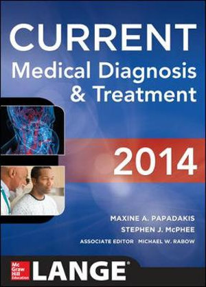 Cover of CURRENT Medical Diagnosis and Treatment 2014