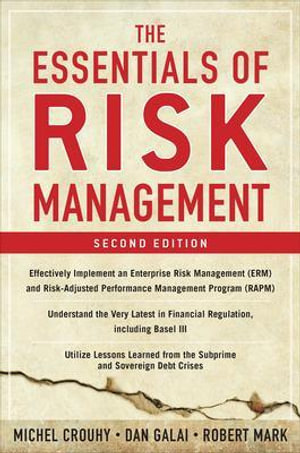 Cover of The Essentials of Risk Management, Second Edition
