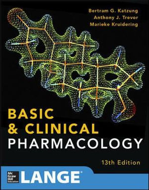Cover of Basic and Clinical Pharmacology 13 E