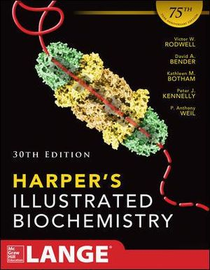 Cover of Harpers Illustrated Biochemistry 30th Edition
