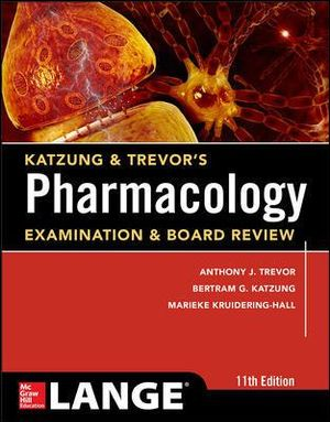 Cover of Katzung & Trevor's Pharmacology Examination and Board Review,11th Edition