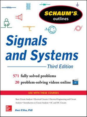 Cover of Schaum's Outline of Signals and Systems, 3rd Edition