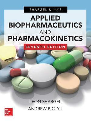 Cover of Applied Biopharmaceutics & Pharmacokinetics, Seventh Edition