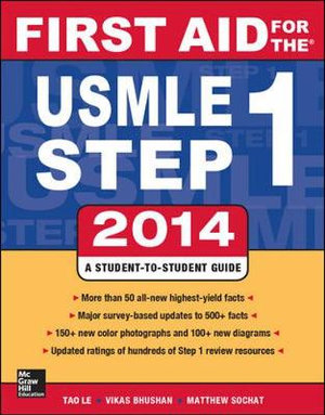 Cover of First Aid for the USMLE Step 1 2014