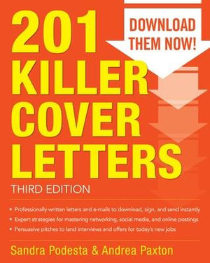 Cover of 201 Killer Cover Letters Third Edition