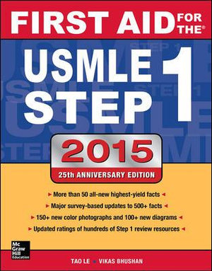 Cover of First Aid for the USMLE Step 1 2015