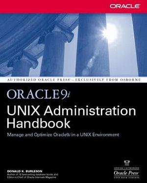 Cover of Oracle9i UNIX Administration Handbook