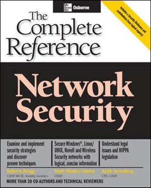 Cover of Network security