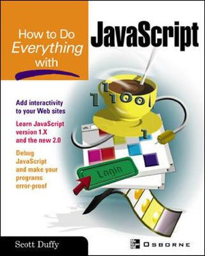 Cover of How To Do Everything with JavaScript