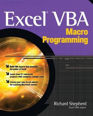 Cover of Excel VBA Macro Programming