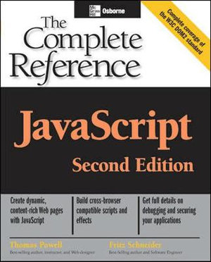 Cover of JavaScript: The Complete Reference, 2nd Edition
