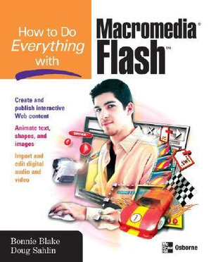 Cover of How to Do Everything with Macromedia Flash
