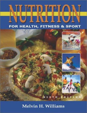 Cover of Nutrition for Health, Fitness, and Sport