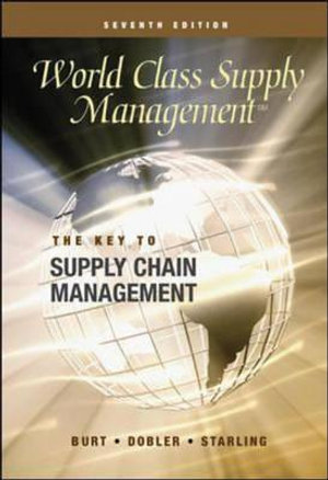 Cover of World Class Supply Management