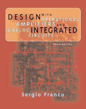 Cover of Design with operational amplifiers and analog integrated circuits