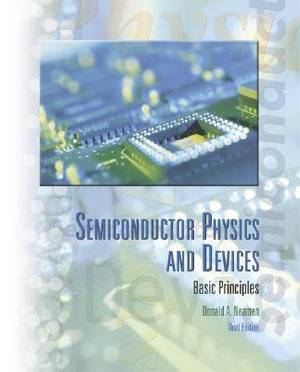 Cover of Semiconductor physics and devices