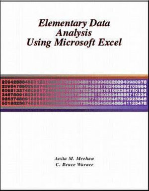Cover of Elementary Data Analysis Using Microsoft Excel