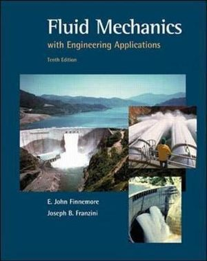 Cover of Fluid Mechanics With Engineering Applications