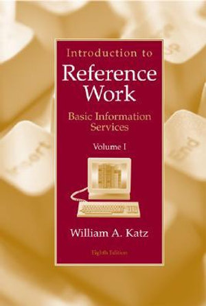 Cover of Introduction to reference work
