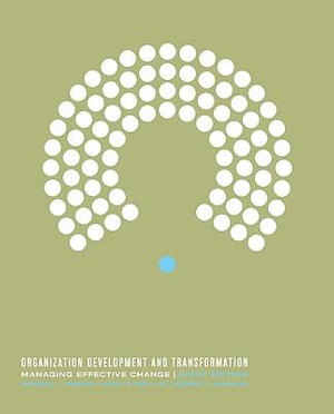 Cover of Organization development and transformation