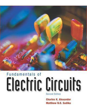 Cover of Fundamentals of Electric Circuits