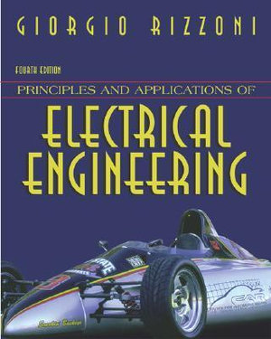 Cover of Principles and Applications of Electrical Engineering