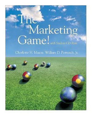 Cover of The Marketing Game! (with student CD ROM)