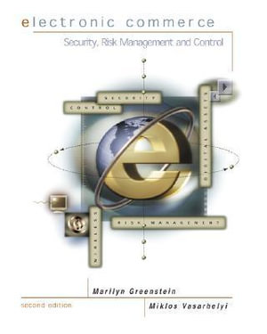 Cover of Electronic Commerce: Security, Risk Management, and Control ...